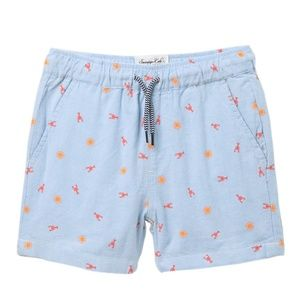 Sovereign Code HB Sunny Lobster Shorts NWT